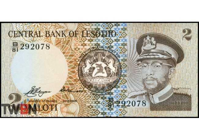 Lesotho P-   4a