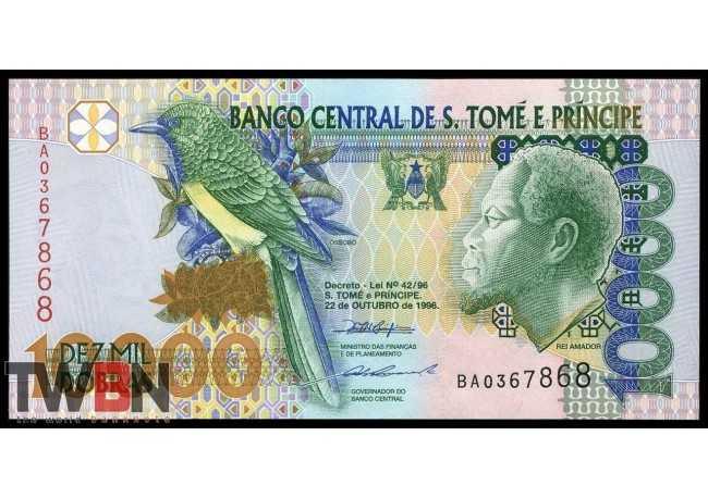 Santo Tomé y Príncipe P-  66a