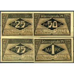 Wernigerode Me 1408.1_(complete series - 4 notes)