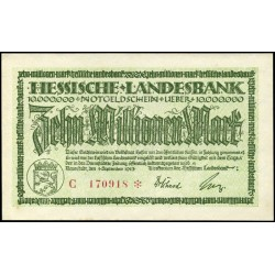 Darmstadt 10.000.000 Mark 1923