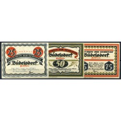 Büdelsdorf Me 200.1_(complete series - 3 notes)