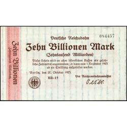 Berlín 10 billones Mark 1923