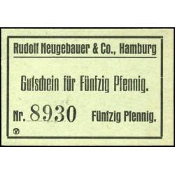 Hamburgo - Rudolf Neugebauer & Co. 50 Pfennig