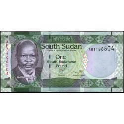 Sudán del Sur P-  5
