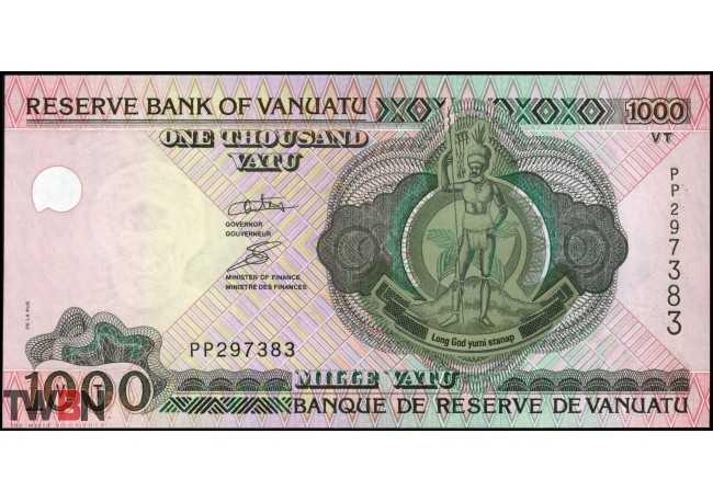 Vanuatu 1000 Vatu 2010 UNC P-10c