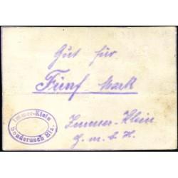 Sondernach (Elsass) 5 Mark oD (1914-15)