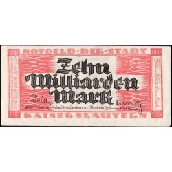 Kaiserslautern 20 Mrd. Mark 1923