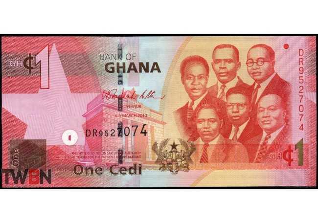 "Ghana P-  37b_2010 (filigrana""1"")"