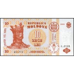 Moldova P-  10f_2009